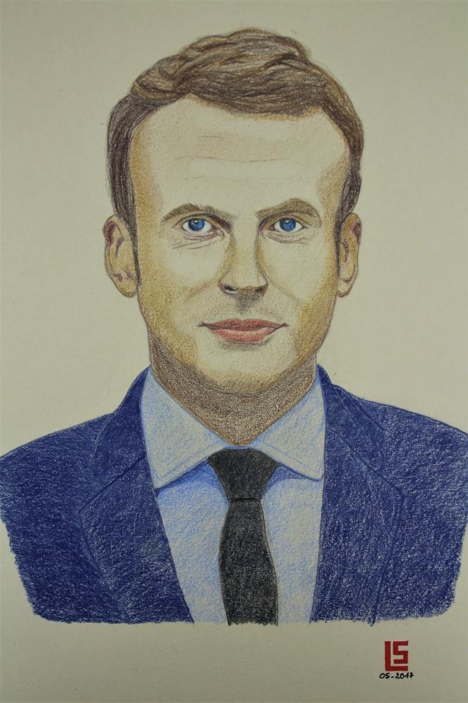 Emmanuel Macron by kornog